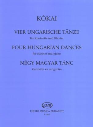 4 Ungarische Tänze - Clarinette et Piano - laflutedepan.com