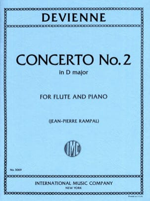 Concerto n° 2 in D major DEVIENNE Partition laflutedepan