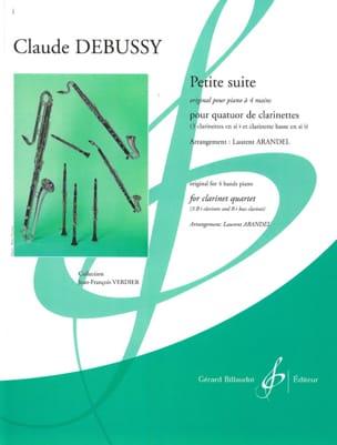 Petite suite - 4 Clarinettes DEBUSSY Partition laflutedepan