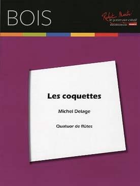 Les Coquettes - 4 Flûtes - Michel Delage - laflutedepan.com