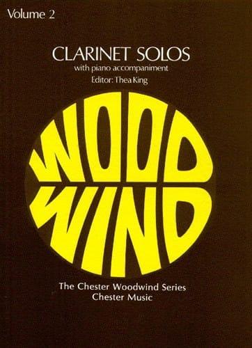 Clarinet Solos Volume 2 - Partition - laflutedepan.com