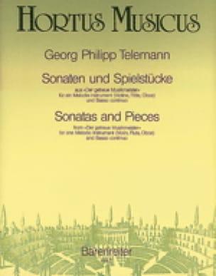Sonaten und Spielstücke - TELEMANN - Partition - laflutedepan.com