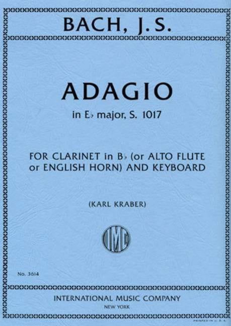 Adagio En Mib Maj. - S.1017 - BACH - Partition - laflutedepan.com