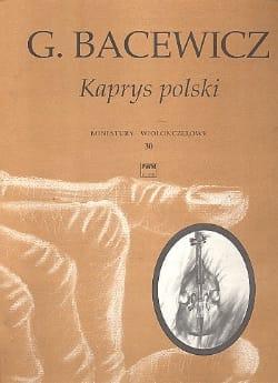 Polish Caprice Grazyna Bacewicz Partition Violoncelle - laflutedepan