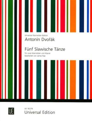 5 Slawische Tänze Op. 46 DVORAK Partition Trios - laflutedepan
