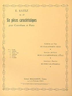 Cantabile op. 46 n° 2 extr. 6 Pièces caractéristiques laflutedepan