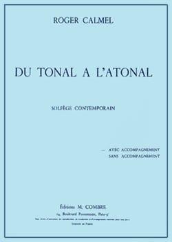 Du tonal à l'atonal - avec accompagnement Roger Calmel laflutedepan