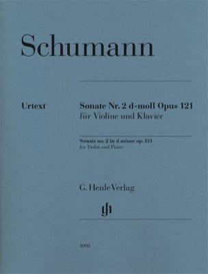 SCHUMANN - Sonata No. 2 in D minor op. 121 - Partition - di-arezzo.com