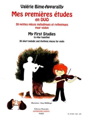 Mes premières études en Duo - 2 violons laflutedepan