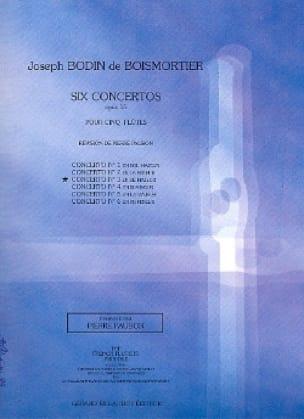 Concerto op. 15 n° 3 en ré majeur - 5 Flûtes - laflutedepan.com