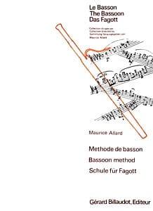 Méthode de basson Maurice Allard Partition Basson - laflutedepan