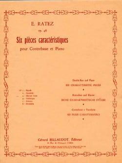 Menuet varié op. 46 n° 3 extr. 6 Pièces caractéristiques laflutedepan