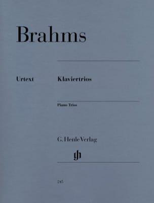 Trios avec piano BRAHMS Partition Trios - laflutedepan