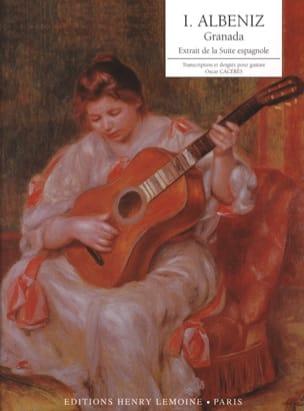 Granada Albeniz Isaac / Caceres Oscar Partition Guitare - laflutedepan