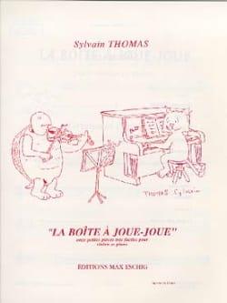 La Boite à Joue-Joue Sylvain Thomas Partition Violon - laflutedepan