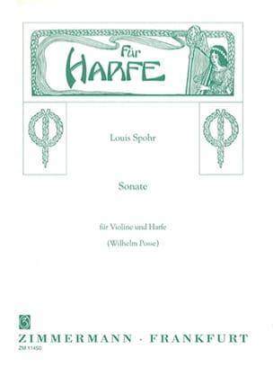 Sonate C-Moll - Violine Harfe SPOHR Partition 0 - laflutedepan