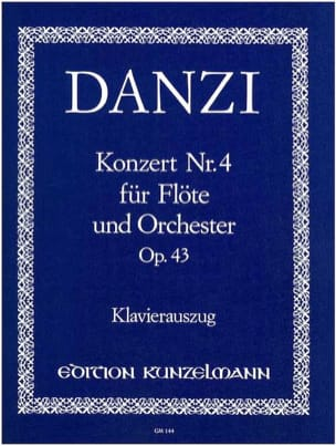 Concerto n° 4 op. 43 - Flöte Klavier Franz Danzi laflutedepan