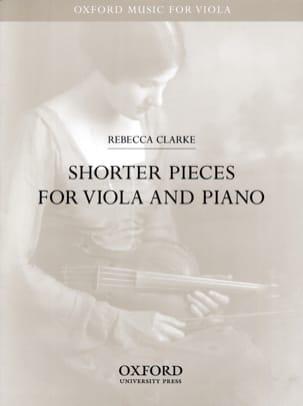 Shorter Pieces for Viola and Piano Rebecca Clarke laflutedepan