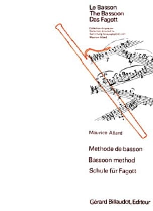 Méthode de basson - Maurice Allard - Partition - laflutedepan.com