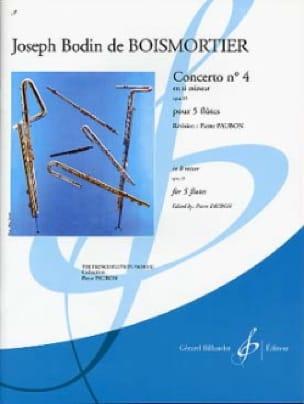 Concerto op. 15 n° 4 en si mineur - 5 Flûtes - laflutedepan.com