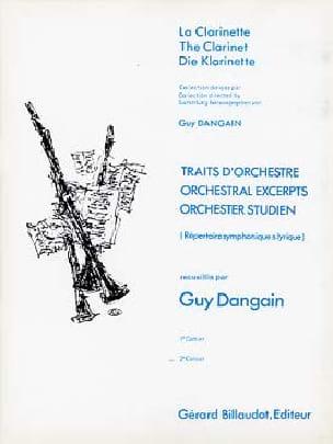 Traits D'orchestre Volume 2 - Guy Dangain - laflutedepan.com