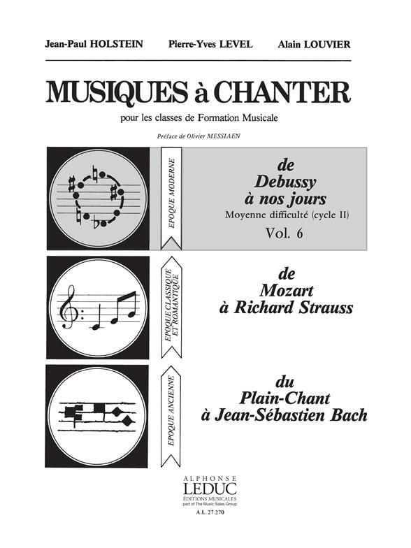 Musiques à chanter - Volume 6 - laflutedepan.com