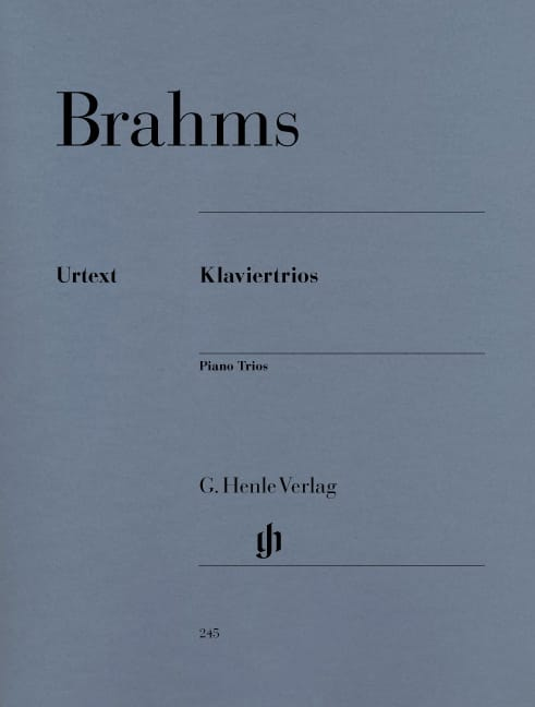 Trios avec piano - BRAHMS - Partition - Trios - laflutedepan.com