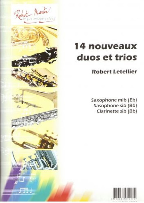 14 Nouveaux duos et trios - Robert Letellier - laflutedepan.com