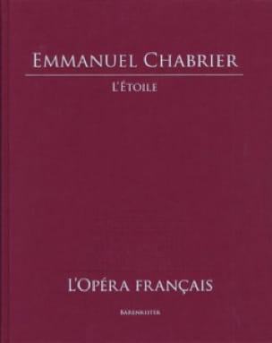 L' Etoile - CHABRIER - Partition - Grand format - laflutedepan.com
