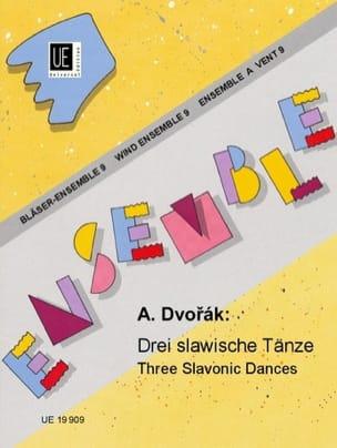 3 Slawische Tänze - Bläser-Ensemble DVORAK Partition laflutedepan