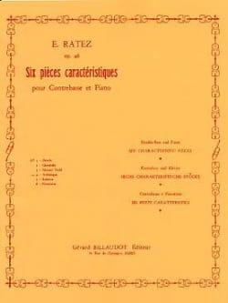 Arabesque op. 46 n° 4 extr. 6 Pièces Caractéristiques laflutedepan