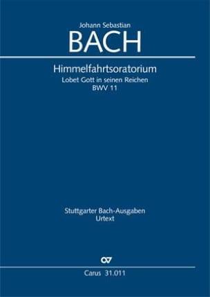 Himmelfahrts-Oratorium, BWV 11 - Conducteur - BACH - laflutedepan.com