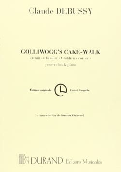 Golliwogg's Cake-Walk DEBUSSY Partition Violon - laflutedepan