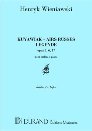Kuyawiak op. 2 / Airs Russes op. 6 / Légende op. 17 laflutedepan