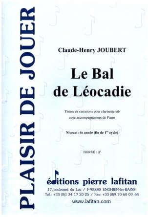 Le Bal de Léocadie Claude-Henry Joubert Partition laflutedepan