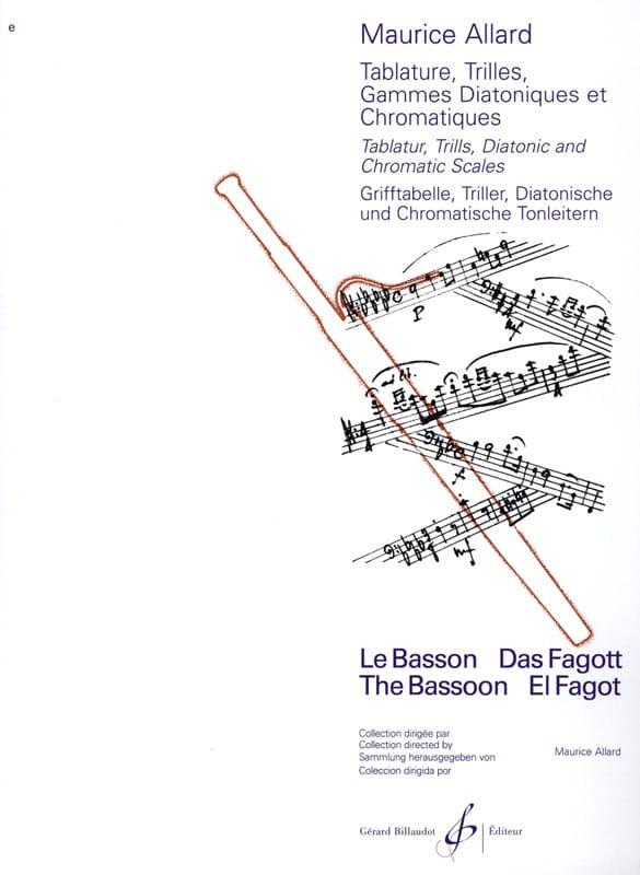 Tablature, trilles gammes diatoniques et chromatiques - laflutedepan.com