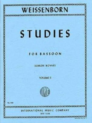 Studies op. 8 - volume 2 - Julius Weissenborn - laflutedepan.com
