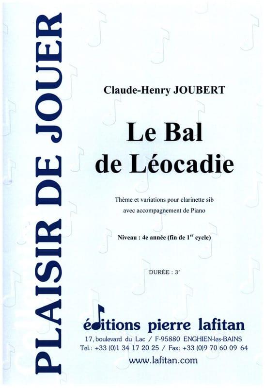 Le Bal de Léocadie - Claude-Henry Joubert - laflutedepan.com