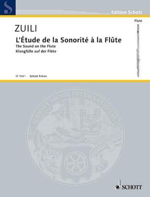 L'étude de la sonorité Marc Zuili Partition laflutedepan
