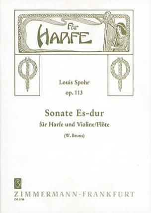 Sonate Es-Dur op. 113 - Violine o Flöte Harfe SPOHR laflutedepan