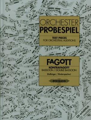Traits d'orchestre pour basson et contrebasson laflutedepan