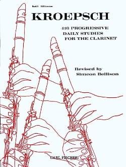 Fritz Kroepsch - 416 Progressive daily studies - Volume 2 - Partition - di-arezzo.com