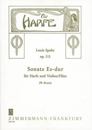 Sonate Es-Dur op. 113 - Violine o Flöte Harfe - laflutedepan.com