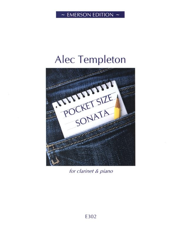 Pocket Size Sonata - Alec Templeton - Partition - laflutedepan.com
