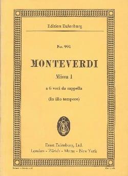 Messe Nr. 1 C-Dur - MONTEVERDI - Partition - laflutedepan.com