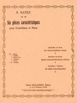 Novelette op. 46 n° 6 extr. 6 Pièces Caractéristiques laflutedepan