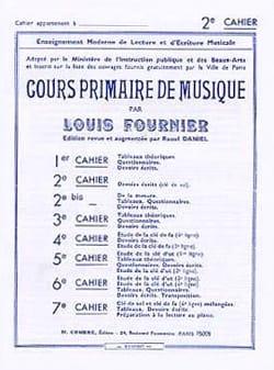 Cours primaire de musique n° 2 Louis Fournier Partition laflutedepan