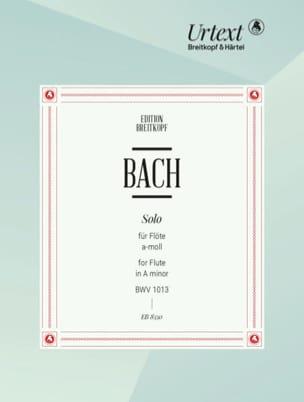Solo Partita a-moll, BWV 1013 - Flöte solo BACH Partition laflutedepan