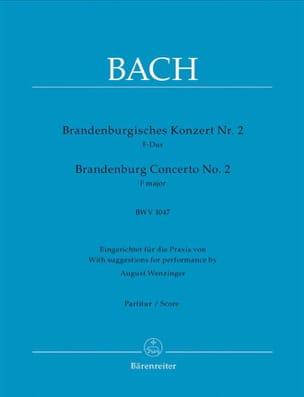 Brandenburgisches Konzert Nr. 2 F-dur, BWV 1047 - Conducteur laflutedepan