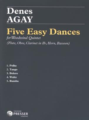 5 Easy Dances -Woodwind quintet Denes Agay Partition laflutedepan